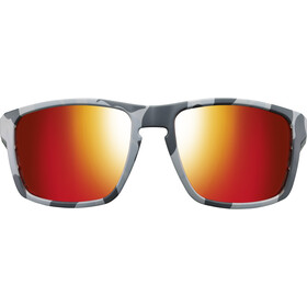 Julbo Stream Polarized 3 Zonnebril Heren, grey/yellow/multilayer red
